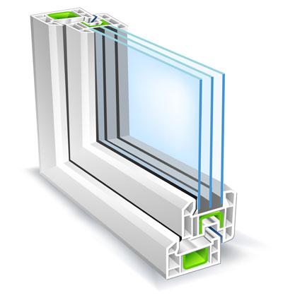 Double triple glazing ber dublin greenerspace for Fenetre a double vitrage